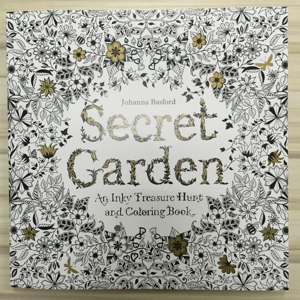 Buy 96 Pages Secret Garden Coloring Book