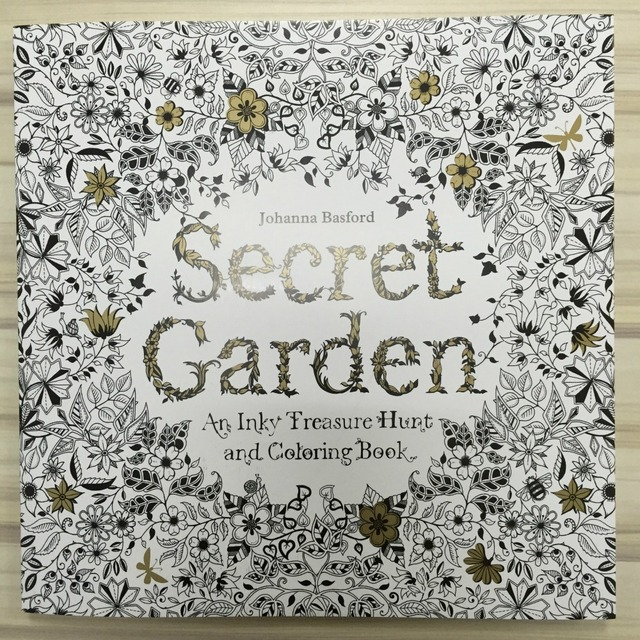96 Pages Secret Garden Coloring Book for Adults Adult Kids ...