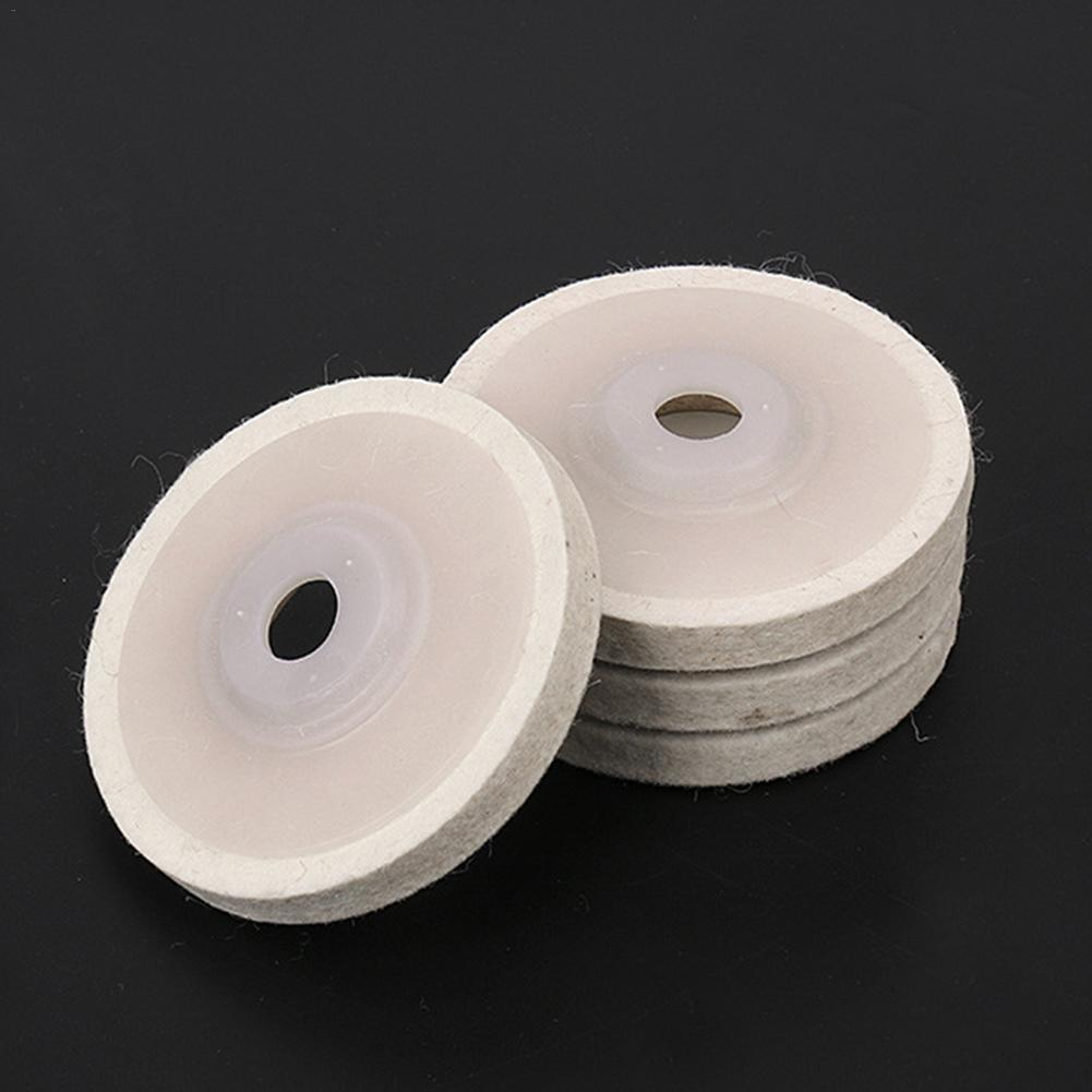 4 Inch 100mm Diameter Wool Felt Polishing Wheel Angle Grinder Buffing Felt Polishing Disc For Rotary Tool Abrasive Grinding