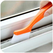 wholesale 2-in-1 Multipurpose Window Groove Keyboard Cranny Cleaning Brush Dust Shovel Window Track Cleaning Brushes