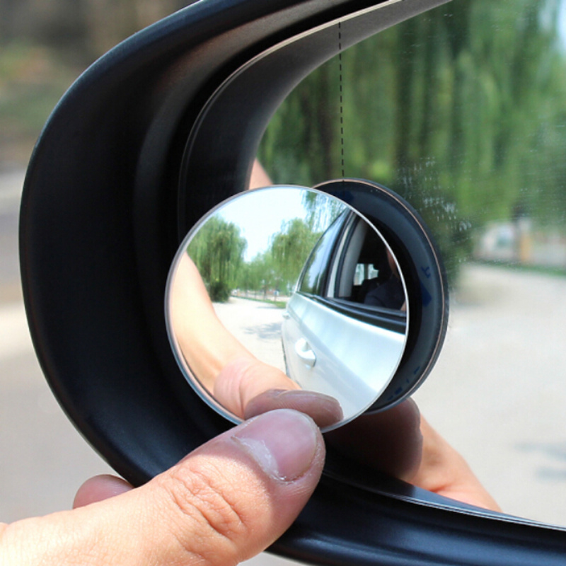 1Pair Car Round Convex Blind Spot mirror For SEAT Altea Toledo MK1 MK2 Ibiza Cupra Leon Cupra Skoda Fabia Rapid octavia Superb