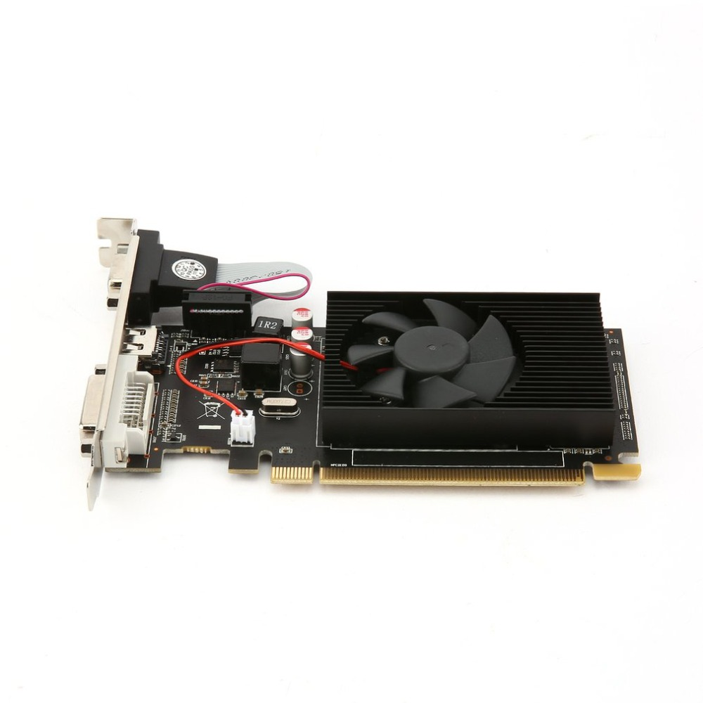 Multimedia 3D GPU Graphics Cards Graphics Accelerator for HD6450 2GB DDR3 64Bit Gaming Graphics Video Cards PCI Express ...