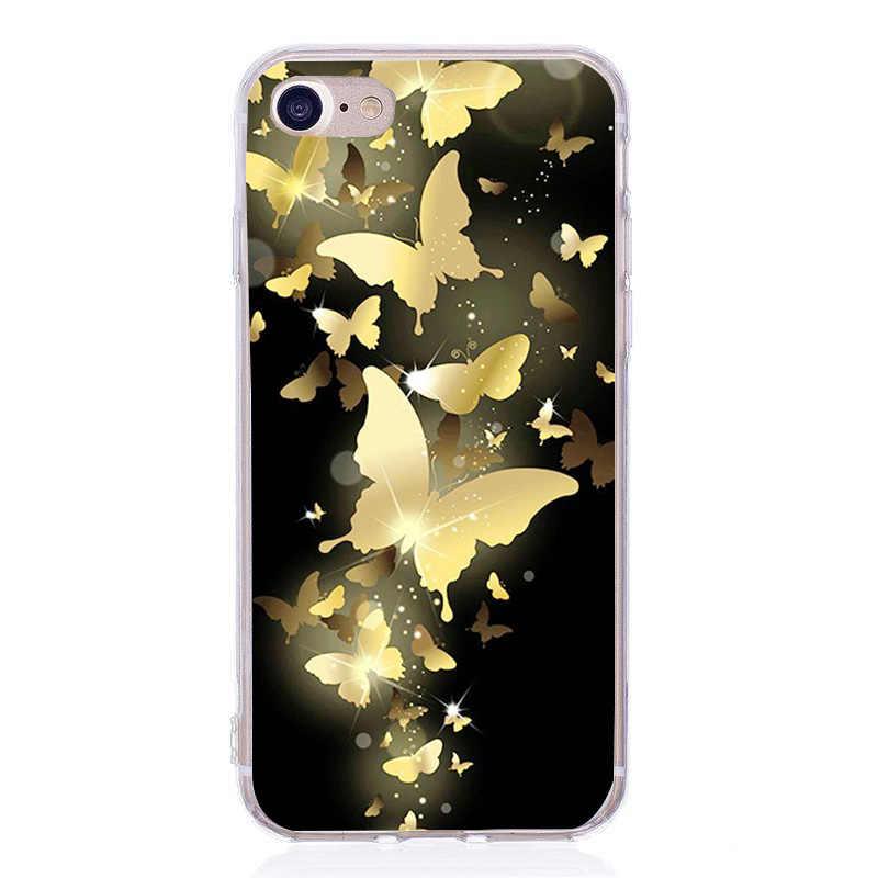 Housses pour iphone 6 6S 8 Plus X 5SE 5 5S Doux Amour Coeur En Silicone pour Téléphone TPU Capa Fundas pour iphone 7 7plus Cas Téléphone Accessoires
