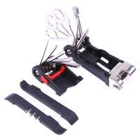 2018 Mini Repair Pocket Folding Tool 11 In 1 Bicycle Moutain Road Bike Tool Set Cycling
