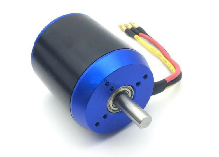 Yuenhoang 1PC N6384 <font><b>150KV</b></font> Motor High Power DC Brushless Scooter Explosion Proof Hall Motors for RC Aircraft FPV Racing Quad image