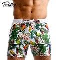Taddlee marca hombre del traje de baño de playa trajes de baño junta shorts boxer trunks sea gay bolsillos casuales pantalones cortos de secado rápido pantalones cortos