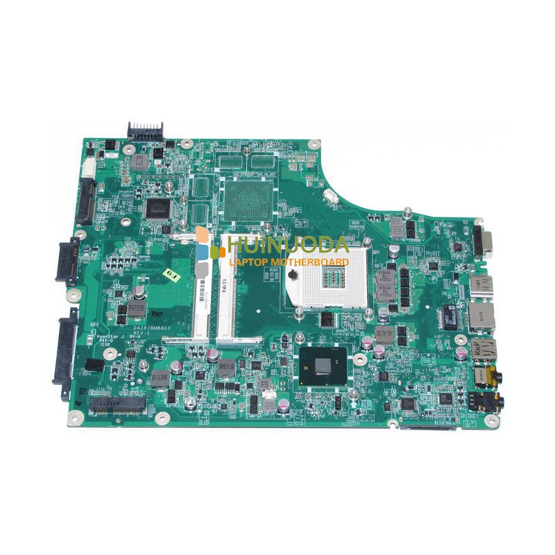 NOKOTION Laptop Motherboard FOR ACER Aspire 5820G 5820T 5820TZG MBPTG06001 DAZR7BMB8E0 31ZR7MB0000 HM55 DDR3 Mainboard original laptop motherboard fit for acer aspire 8920g mbap50b001 6050a2184601 mb a02 965pm ddr3 fully tested