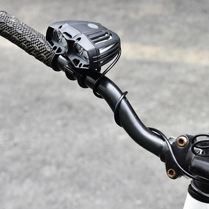 600 LM 4x XML-T6 LED Bike Front Light Bicycle Headlamp Cycling Headlight 4 Mode