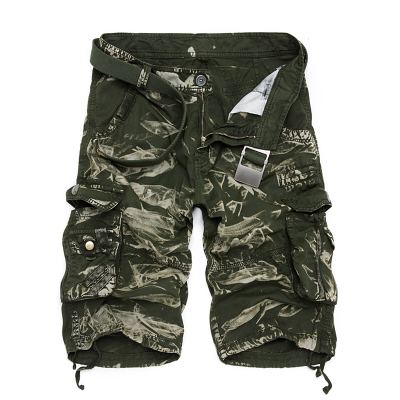 Military Cargo Shorts Men Summer Camouflage Pure Cotton Brand Clothing Comfortable Men Tactical Camo Cargo Shorts 13