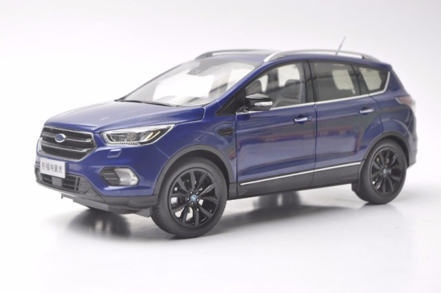 Cast Model For Ford Kuga Escape Sport Edition  Blue Suv Alloy Toy