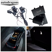Universal easy installation Car LED Welcome Ghost Shadow Angel Wing projector Lamp Courtesy laser carpet light