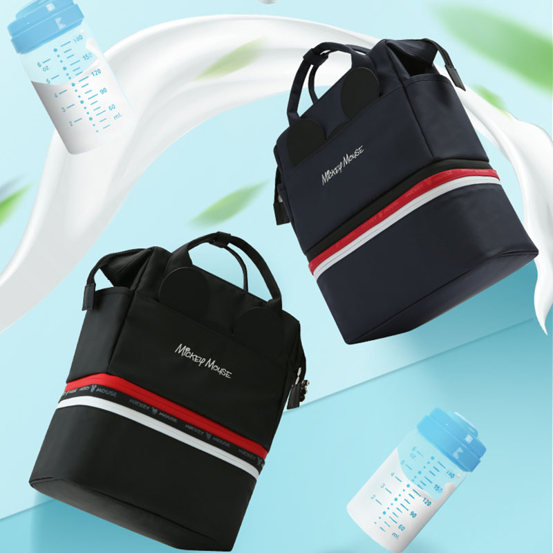 Disney 2019Insulation Bag Milk Food Storage Thermal Bag Mickey Mouse Warmer Baby Feeding Bottle Thermal Keep Drinks Cool Backpac