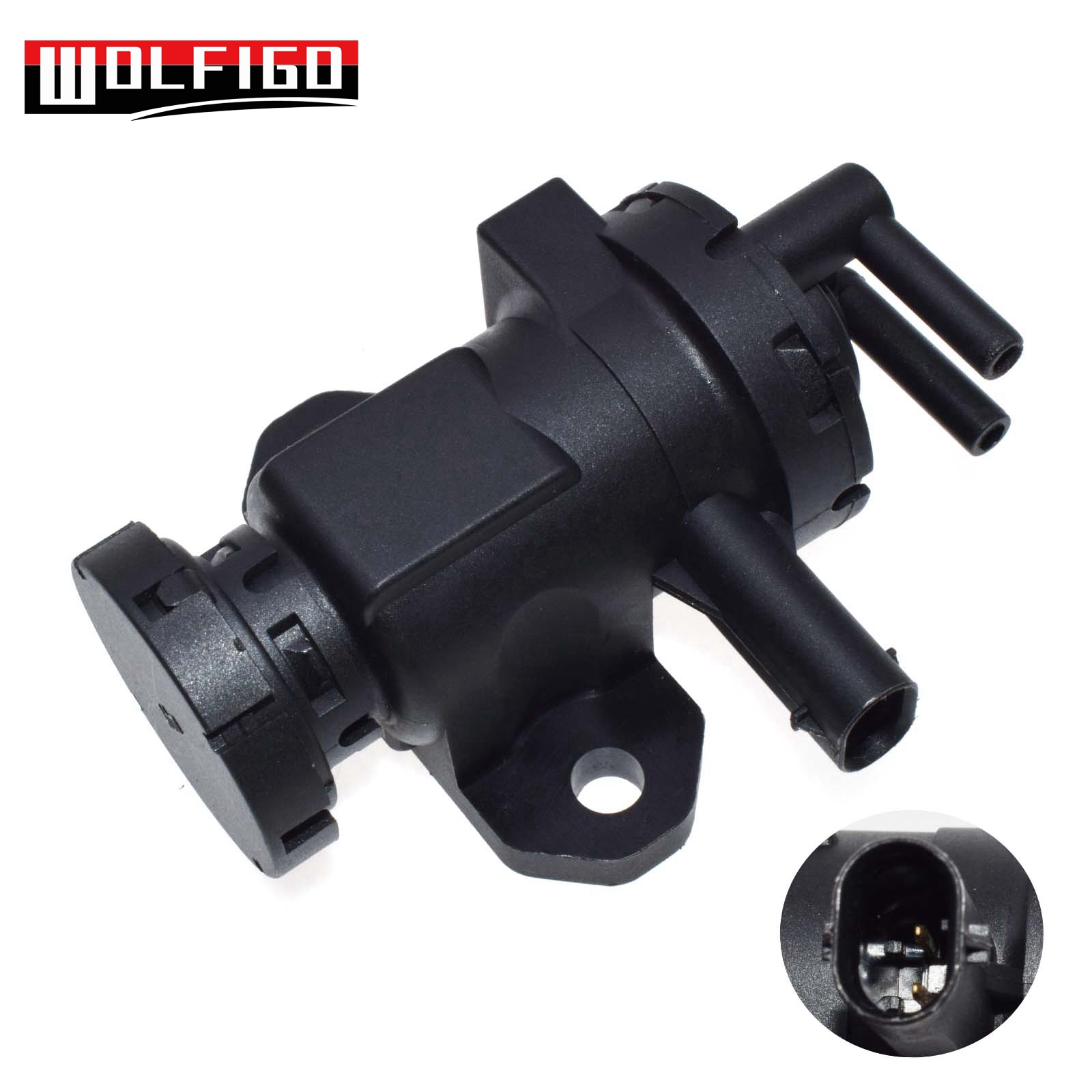 WOLFIGO New 11657808032 Turbo Pressure Solenoid Valve Fit For BMW 1 5 6 7 X3 X5 X6 11658509323