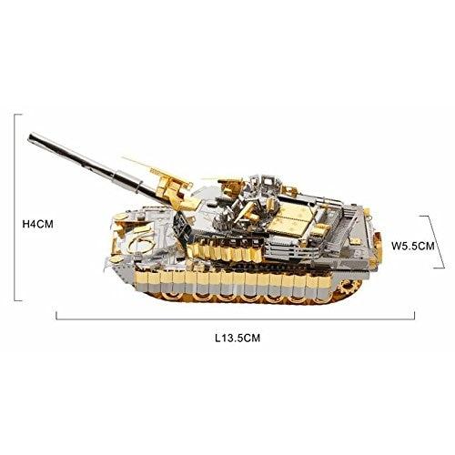 Piececool M1A2 SEP სატანკო 3D ლაზერული - ფაზლები - ფოტო 5