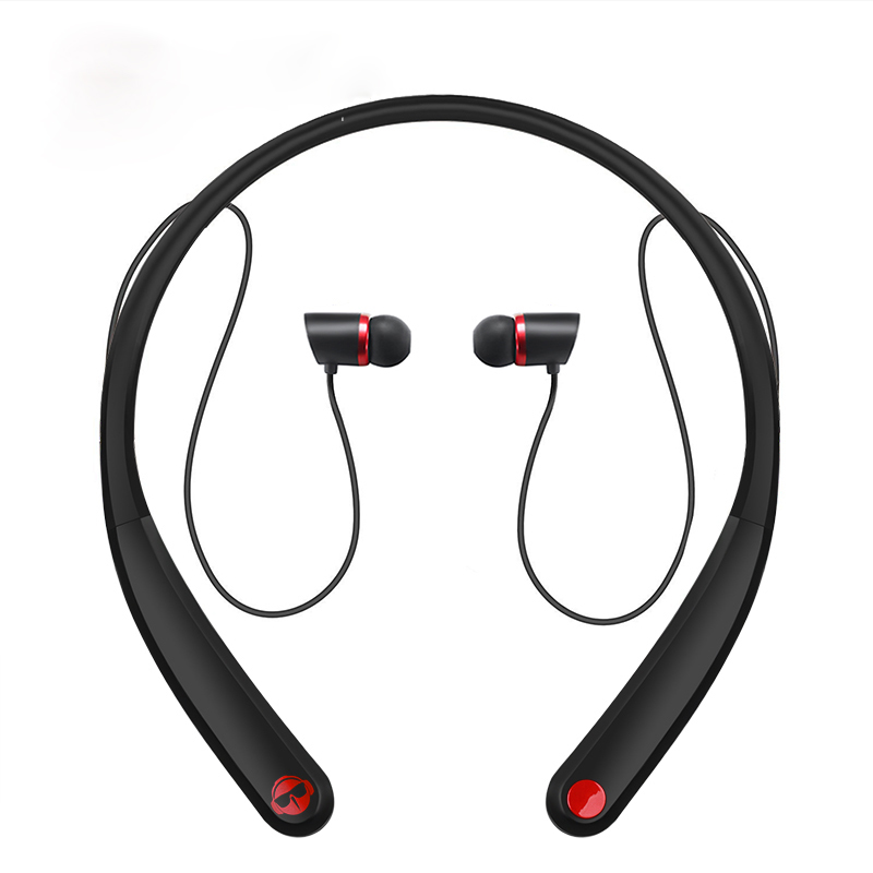 Magift HV990 Neckband Wireless Bluetooth Headset Sweatproof Sports Earphone Magnetic Headphone With Mic for Samsung Xiaomi phone magift bluetooth headphones wireless wired headset with microphone for sports mobile phone laptop free russia local delivery hot