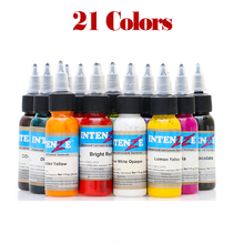 21 Color Set Tattoo Ink Set  Permanent Body Paint Makeup Microblading Pigment  Tattoo & Body Art Color Pigmento 7 color tattoo painless small tattoo pigment plant easy to paint set tattoo template pigment tattoo supplies
