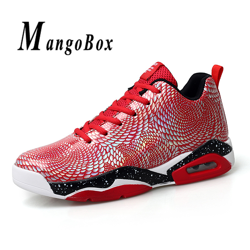 Male High Top Basketball Shoes Red Blue Boy Training Shoes Comfortable Men Basketball Sneakers Air Cushion Gym Basketball ShoesMale High Top Basketball Shoes Red Blue Boy Training Shoes Comfortable Men Basketball Sneakers Air Cushion Gym Basketball Shoes