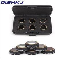 6 шт. фильтры для DJI Мавик PRO/платина набор 6 шт. ND4/8/16/32 CPL круговой поляризатор MCUV УФ Камера фильтр объектива Комплект для DJI Мавик