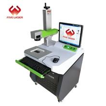 купить 1064nm 20w fiber laser marking machine with Max fiber laser source 110*110mm working area for metal engraving logo making по цене 194742.29 рублей