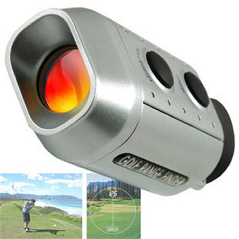 New portable telescope monocular 7X18 golf laser font b rangefinder b font telescope hunting telescope spotting