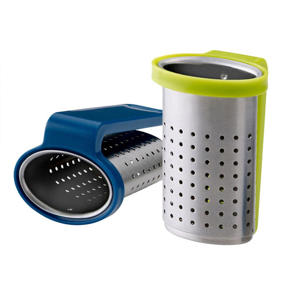 Eusable Stainless Steel Mesh Tea Infuser Tea Strainer Teapot Tea Leaf Spice Filter Drinkware Portable Kitchen Accessories