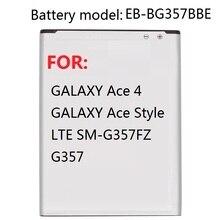 EB-BG357BBE аккумулятора для samsung Ace 4 GALAXY Ace style LTE SM-G357FZ G357 сменный аккумулятор 1900 мАч