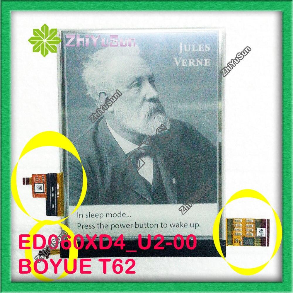 ePaper 6 ED060XD4(LF)U2-00 ED060XD4 3 CONNECTOR for ebook eink lcd display Boyue T62,T62+,,ebook screen,ebook display,ebook LCD pm070wx6 lf lcd display pm070wx1 pm070wx5 lcd displays screen