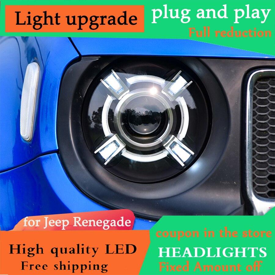 Fang cun Car Styling For V W santana headlights 2013 2015 For V W santana bi