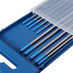 10 sztuk/zestaw 2% lantanowane WL20 spawanie tig pręty elektroda wolframowa 1.6mm x 150mm + 2.4mm x 175mm do narzędzi spawalniczych|Pręty spawalnicze|Narzędzia -
