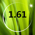 Линзы 1 Пара 1.61 Смолы Линзы Близорукость/дальнозоркость Покрытий, Служба Асферические Уф-Излучения миопия объектив
