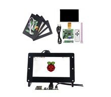 New 7 inch 1024x600 LCD Screen Display Monitor + Driver Board + Case for Raspberry Pi