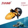 2019 Nieuwe Zee Scooter 300 W Onderwater Dual Speed Water propeller Onderwater Duiken Scooter Apparatuur voor Outdoor Dropshipping