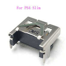 6PCS המקורי CUH 2015A CUH 2015B HDMI נמל מחבר שקע לוח האם עבור Sony פלייסטיישן 4 PS4 Slim
