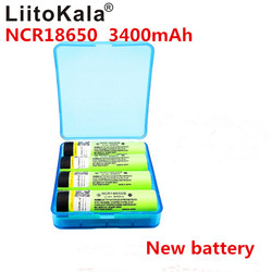 4 개 liitokala 새로운 원래 NCR18650B 3.7 볼트 3400 미리암페르하우어 18650 3400 미리암페르하우어 충전식 리튬 배터리 ree 쇼핑