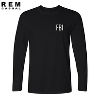 Federal Bureau Of Investigation FBI Funny Cute T Shirt Federal Tee T Shirt Uniform S Jersey