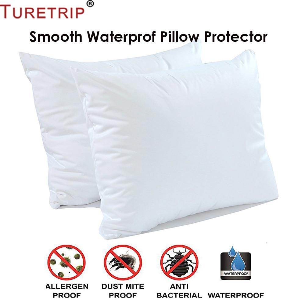 Wasserdichte Kissenbezüge weiche Protector 50x70cm Anti-allergisch