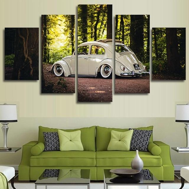 Wand Kunst Modulare Leinwand Wohnzimmer Home Decor Poster Rahmen 5 ...