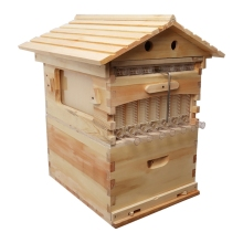 Wooden Beehive House with 7pcs Beehive Frame US UK Warehouse Free Shipping Beehive Wooden Bees Beekeeping Hive Beehive Supply