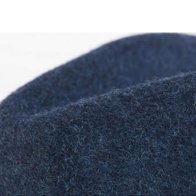 100% Wool Women Men Trilby Homburg Fedora Hat For Elegant Lady Dad Church  Jazz Hat 293a324121fb