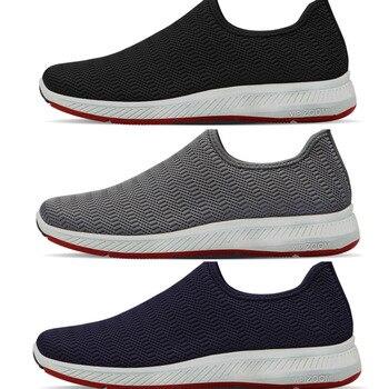 Paperplanes zapatos transpirables livianos deslizables a rayas SNRD para Sneakers-SN197