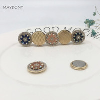 XT167 Convertible Magnet Brooch Hijab Headscarf Scarf Clip Vintage Muslim Brooch Magnetic Pin Brooch