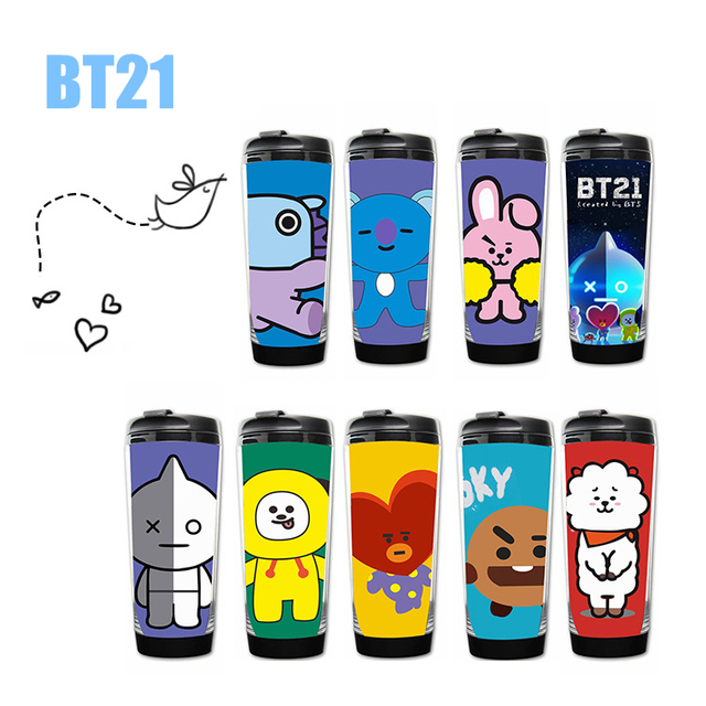 BTS BT21 Travel Mug Tumbler