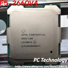 Original Intel Xeon ES la versión QHZF/QHVC/QH2M E5 2660V4 2,0 GHZ 14 núcleos 35MB E5 2660 V4 FCLGA2011-3 E5-2660 V4 E5-2660V4