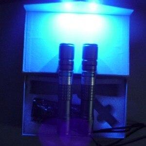 405nm Waterproof flashlight bl