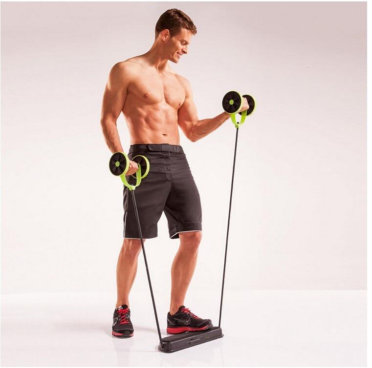 HTB182RnLXXXXXX5XXXXq6xXFXXXL - AB Wheels Roller Stretch Elastic Abdominal Resistance Pull Rope Tool AB roller for Abdominal muscle trainer exercise