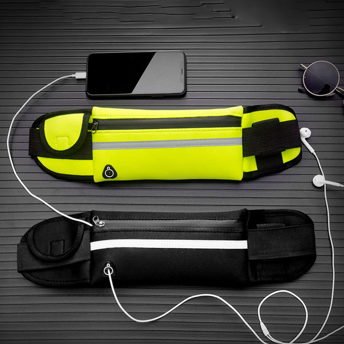 New Running Waist Bag Waterproof Phone Container Jogging Hiking Belt Belly Bag Women Gym Fitness Bag Lady Sport Accessories 11
