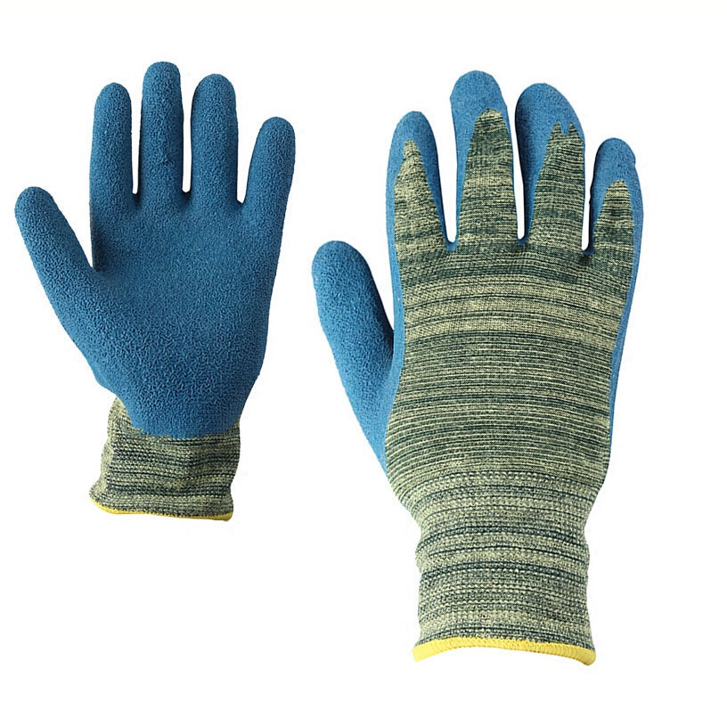 Anti-hot anti high temperature safety gloves Industrial heat-resistant waterproof wear-resistant work protection anti-cut gloves high quality hand tool gloves 12 pairs 700g cotton gloves wear resistant work thick gloves against high low temperature gloves