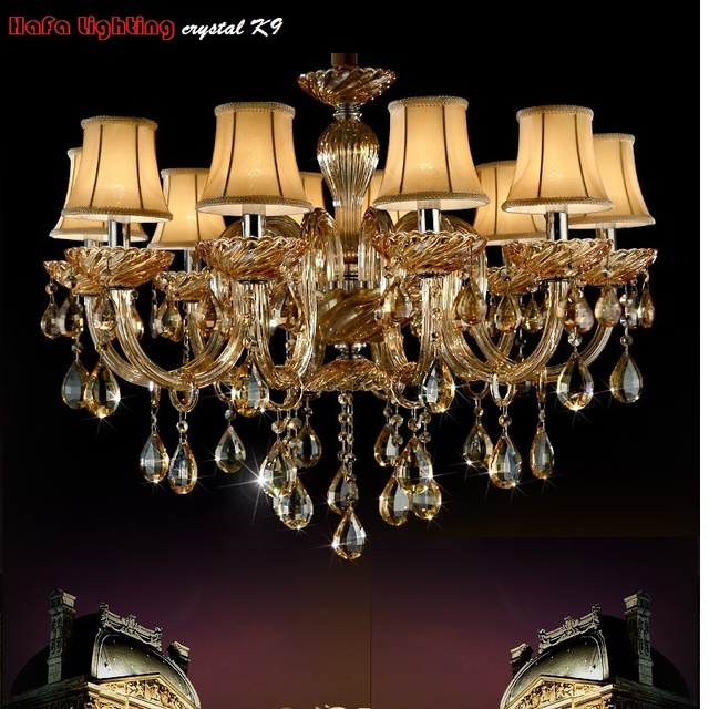 Modern Chandelier Crystal Lights Fashion LED chandelier Living Room Bedroom Hotel Luxury k9 Crystal light Chandeliers lamp