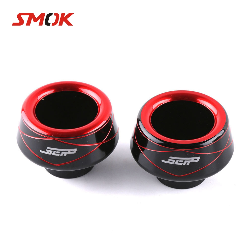 SMOK Universal Scooter Motorcycle Falling Front Fork Wheel Crash Slider Falling Protection For Tmax 500 Nmax 155 Xmax 125 AK550