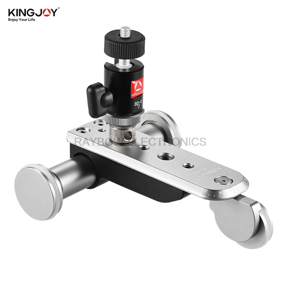 Kingjoy PPL 06S electric pulley Car video tripod dolly with 3 wheels for font b Smartphone